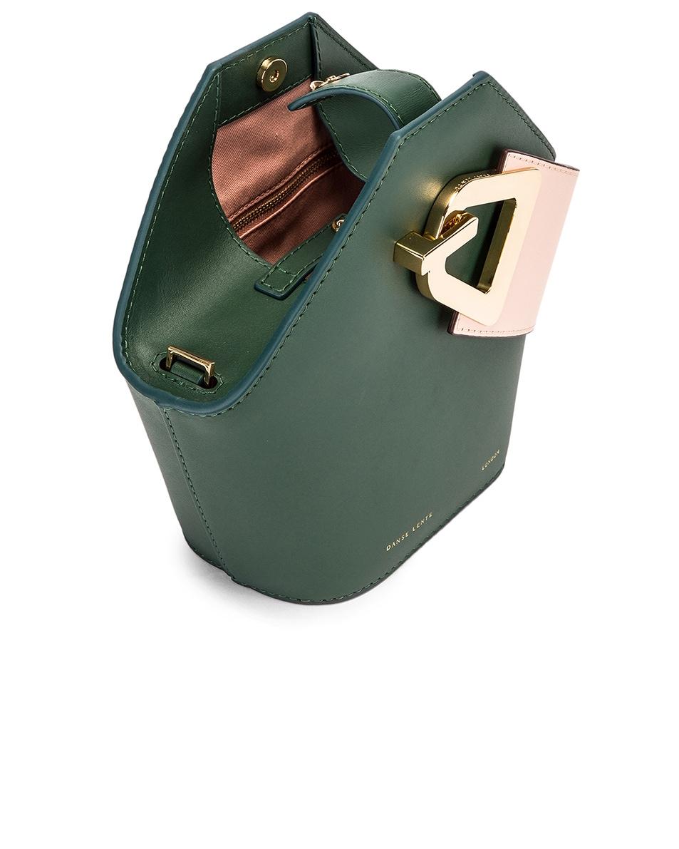 Image 5 of Danse Lente Mini Johnny Bag in Garden & Blush Gold