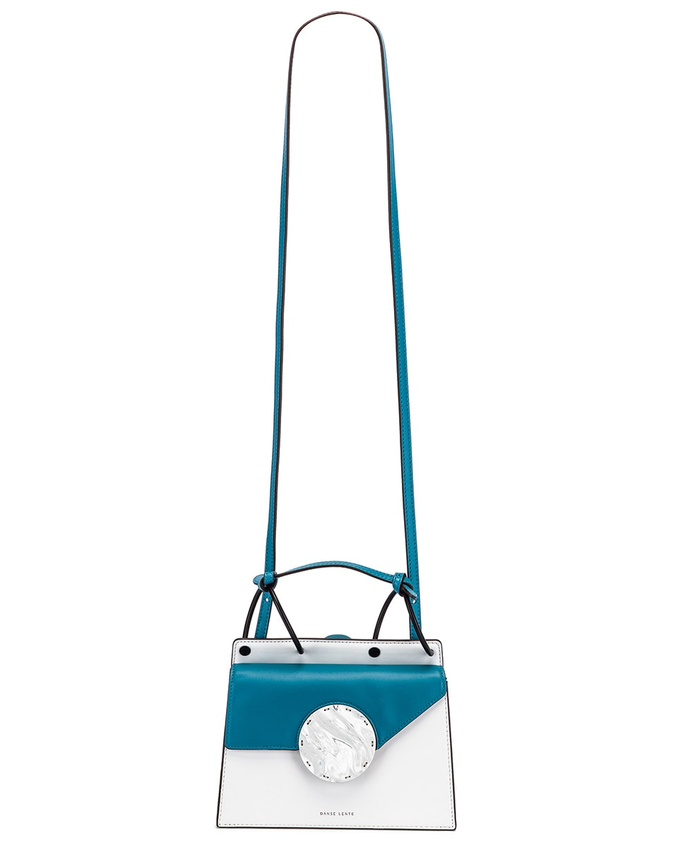 Image 6 of Danse Lente Phoebe Bis Bag in Ice & Hawaiian Blue