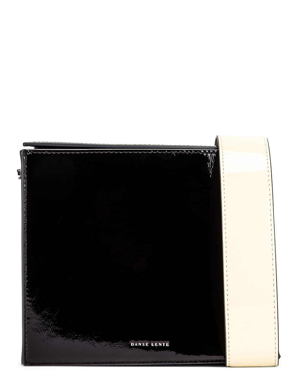 Image 1 of Danse Lente Zoe Bag in Black & Buttermilk