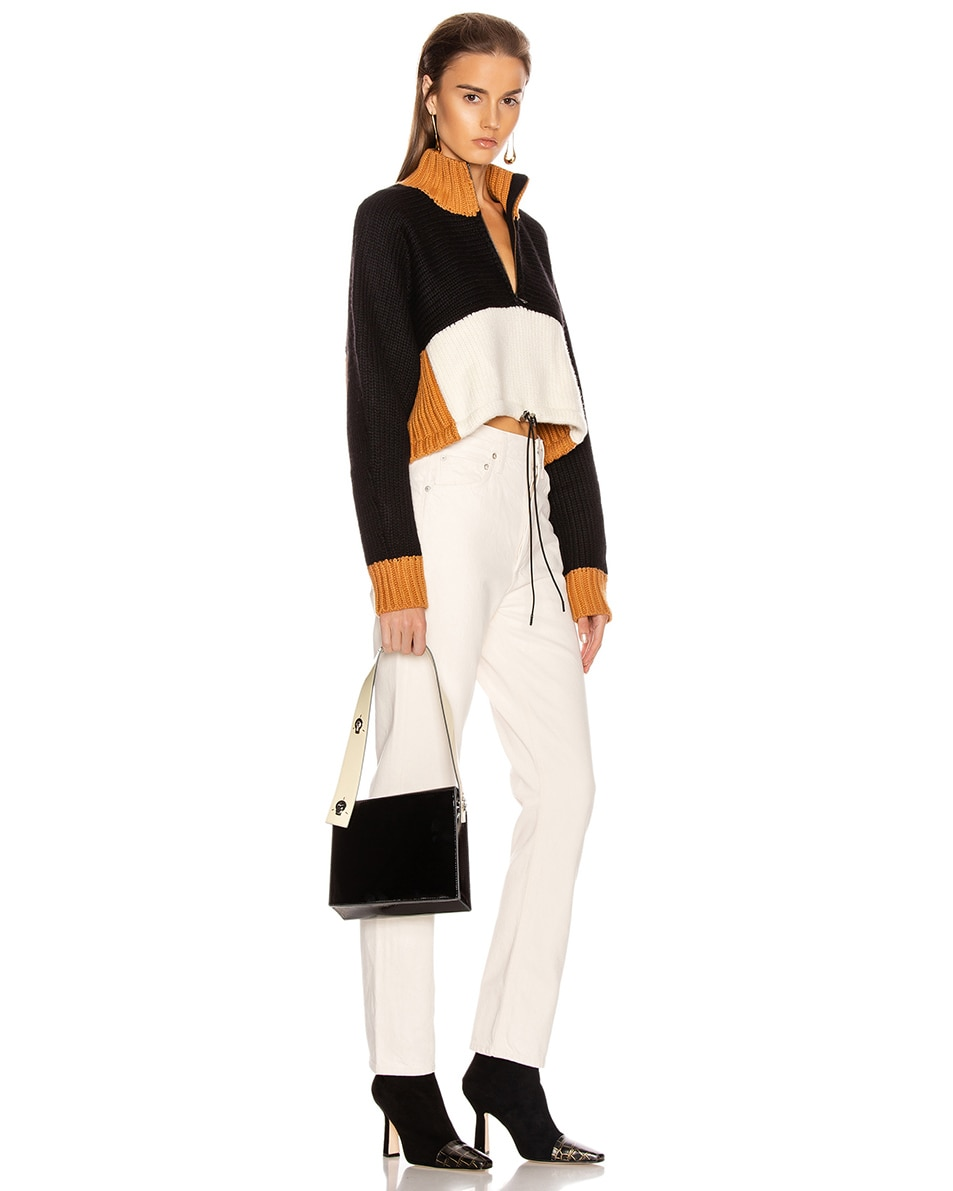 Image 2 of Danse Lente Zoe Bag in Black & Buttermilk