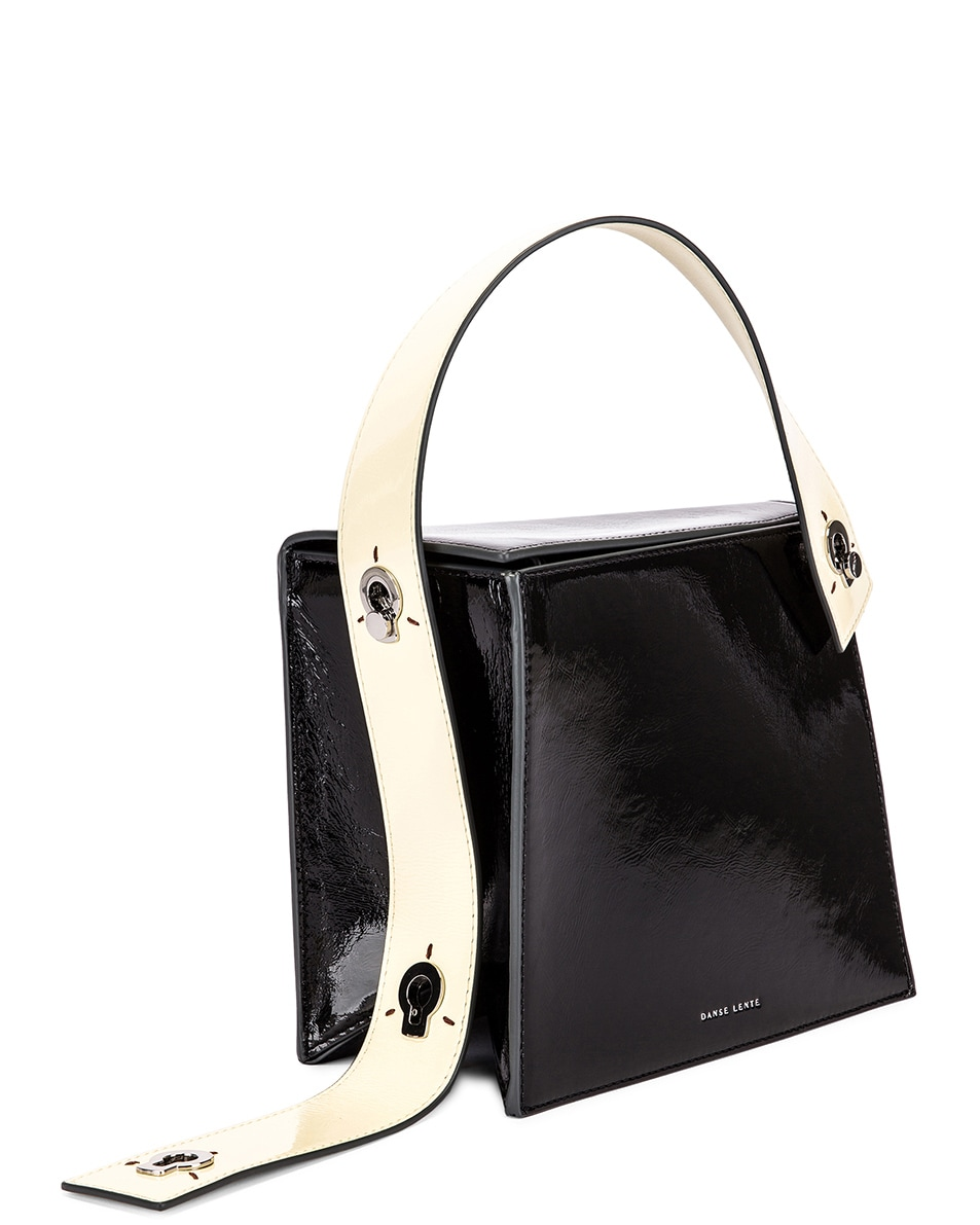 Image 4 of Danse Lente Zoe Bag in Black & Buttermilk