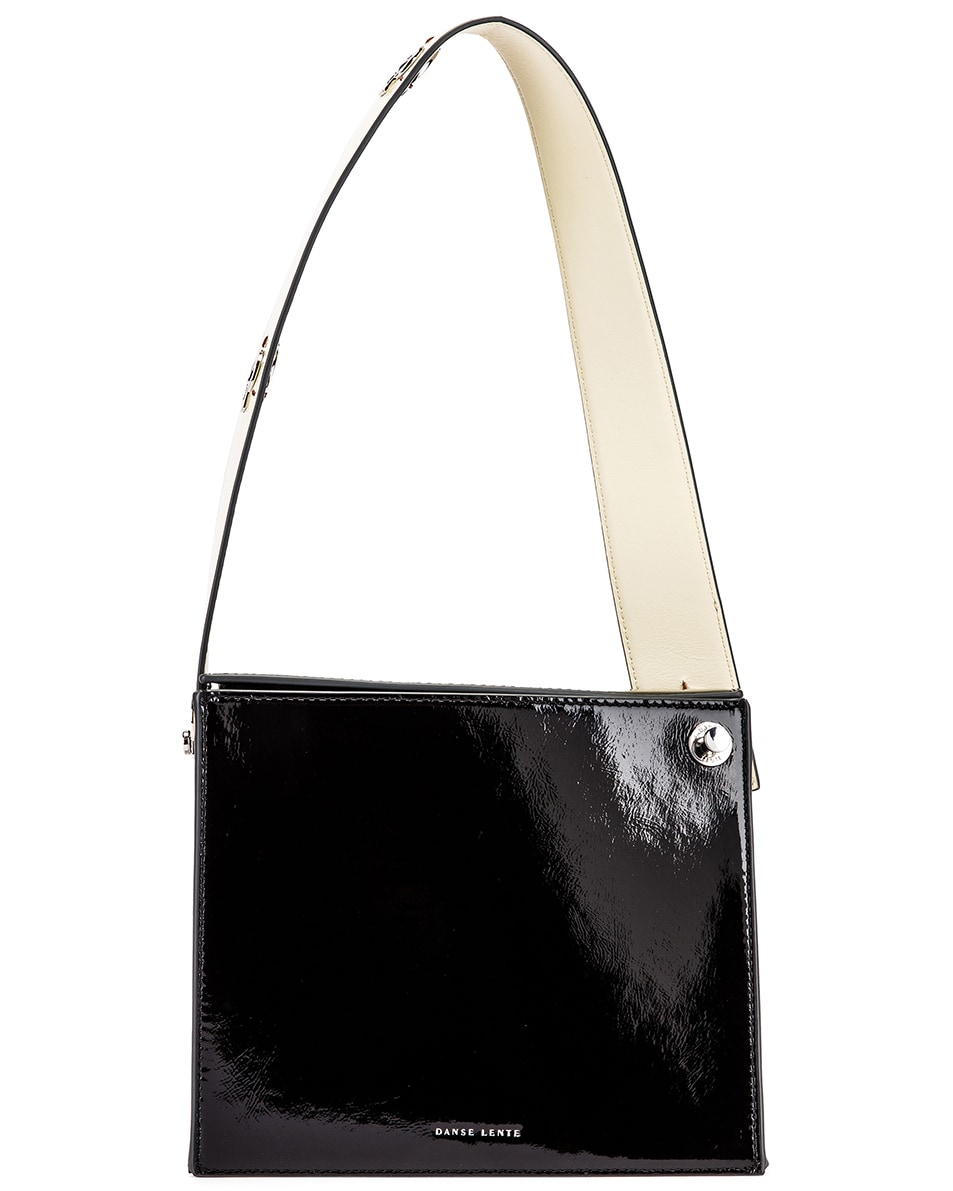 Image 6 of Danse Lente Zoe Bag in Black & Buttermilk