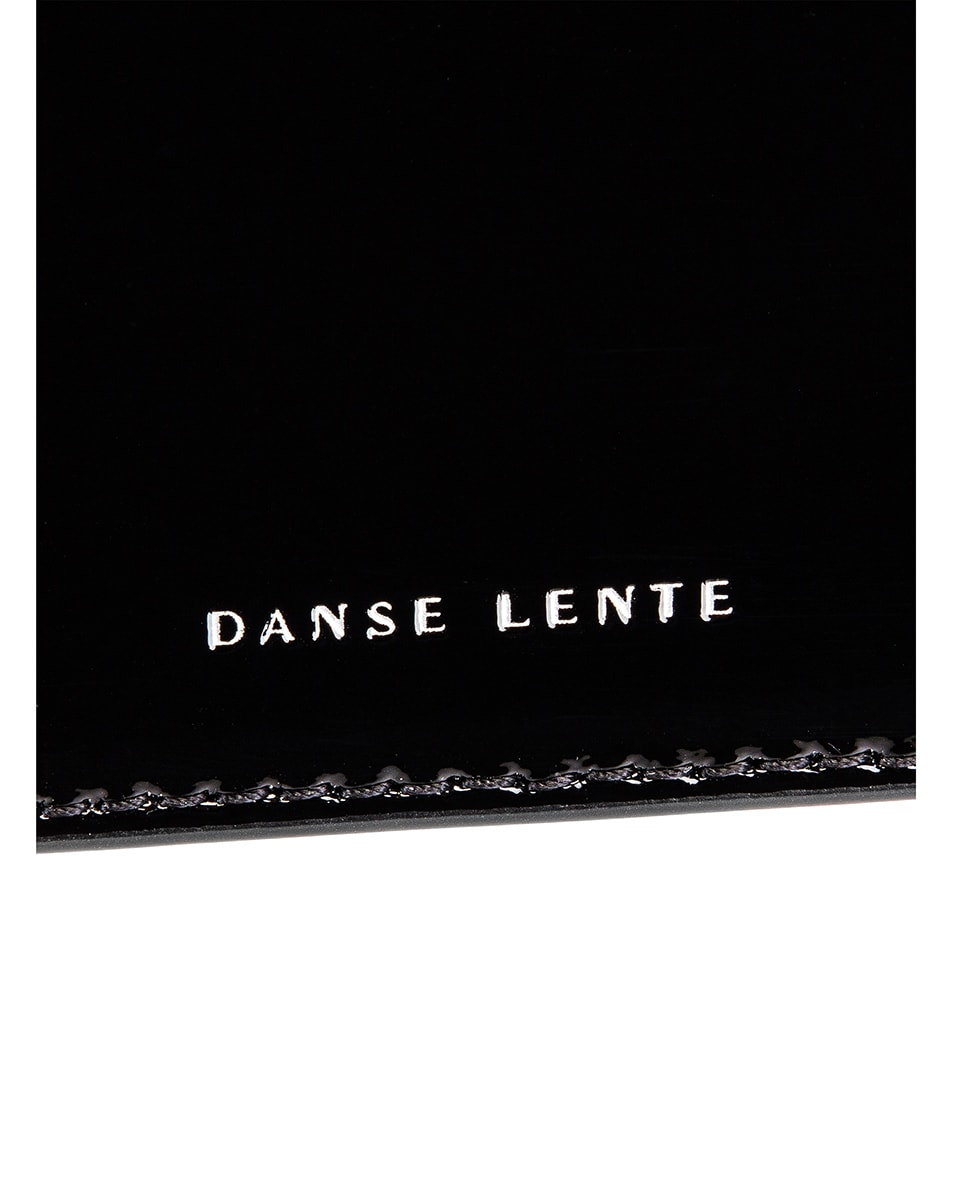 Image 7 of Danse Lente Patent Phoebe Bis Bag in Jet Black