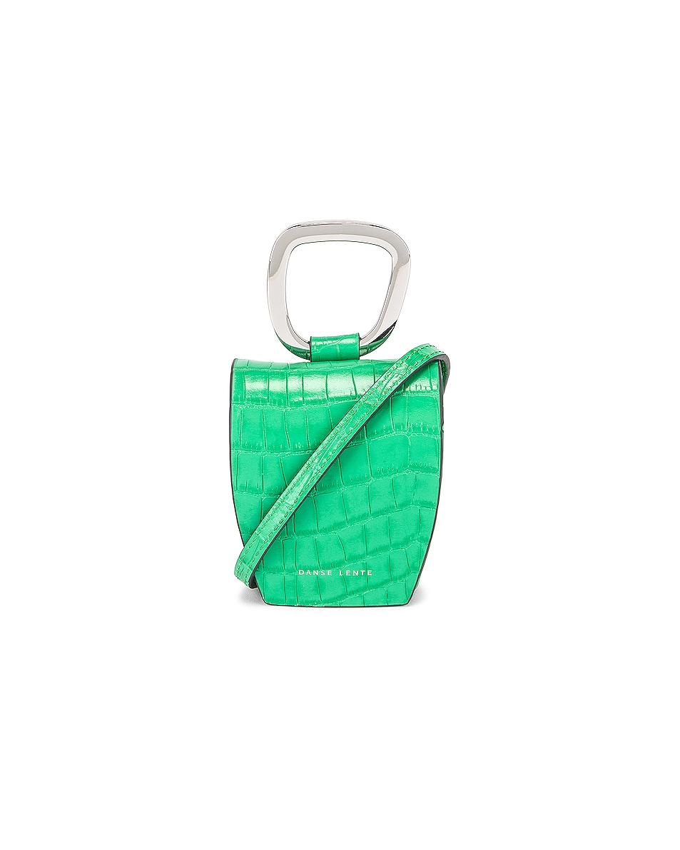 Image 1 of Danse Lente Magnetic Box in Emerald Croc