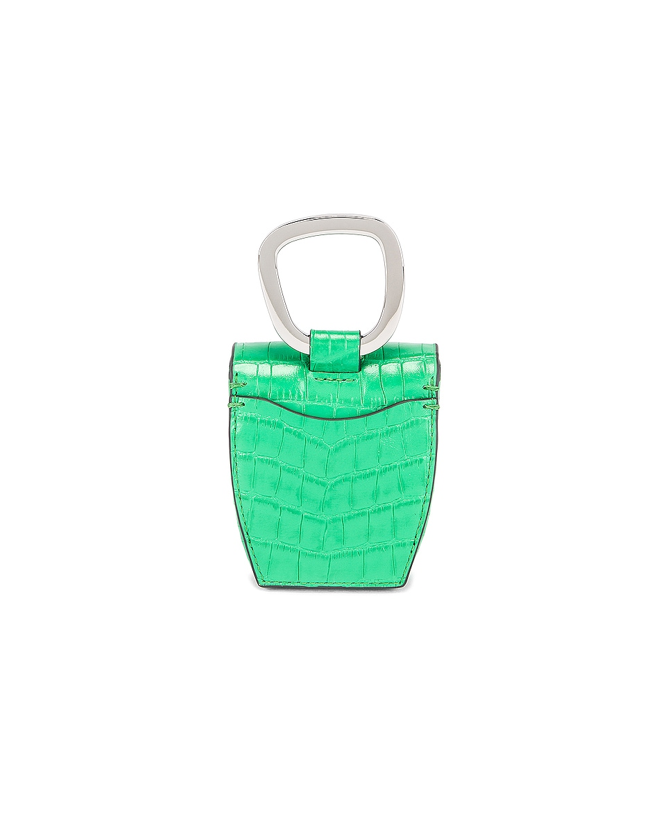 Image 3 of Danse Lente Magnetic Box in Emerald Croc