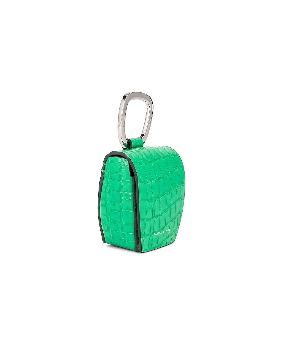 Image 4 of Danse Lente Magnetic Box in Emerald Croc
