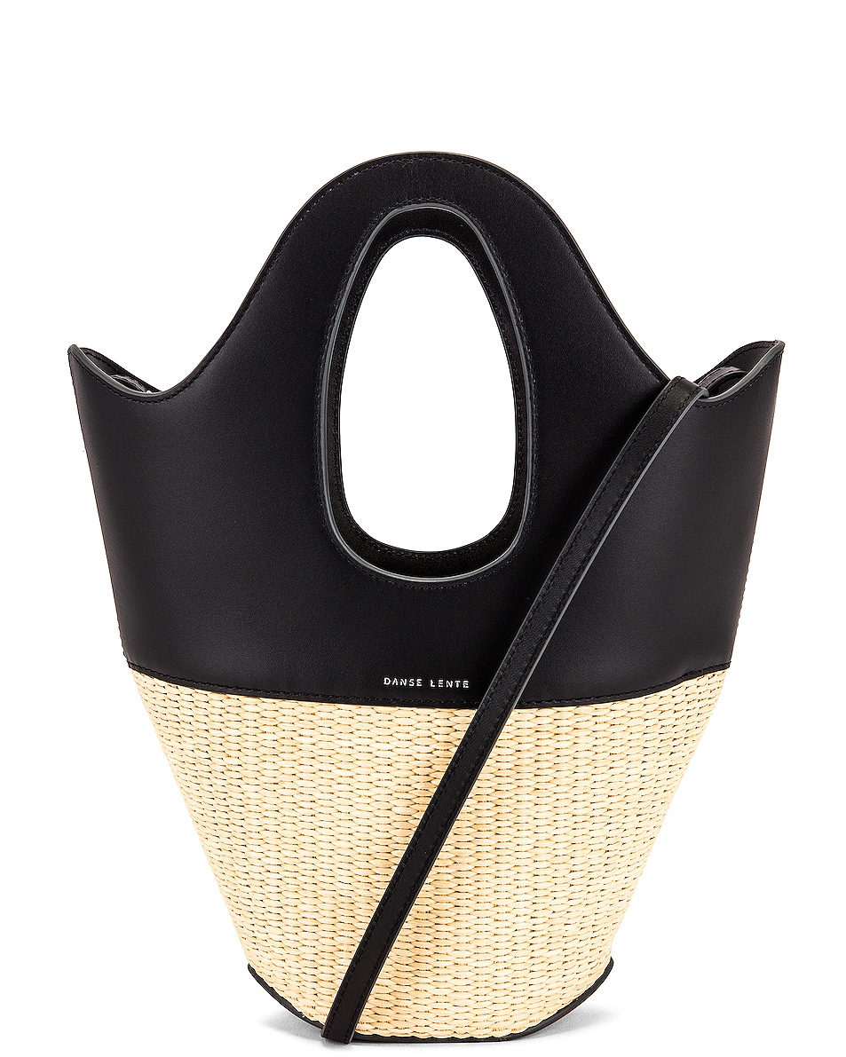 Image 1 of Danse Lente Small Tote in Black & Rice