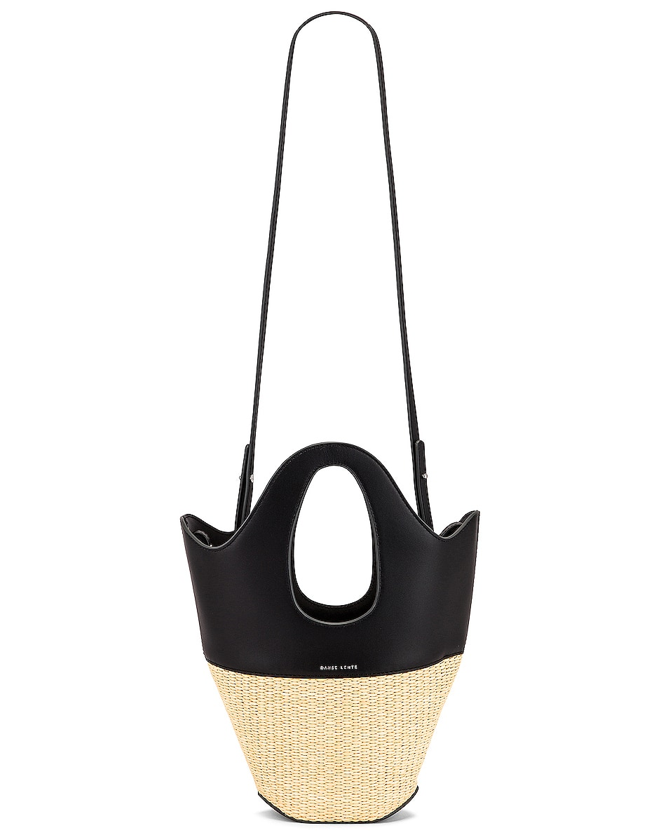 Image 6 of Danse Lente Small Tote in Black & Rice