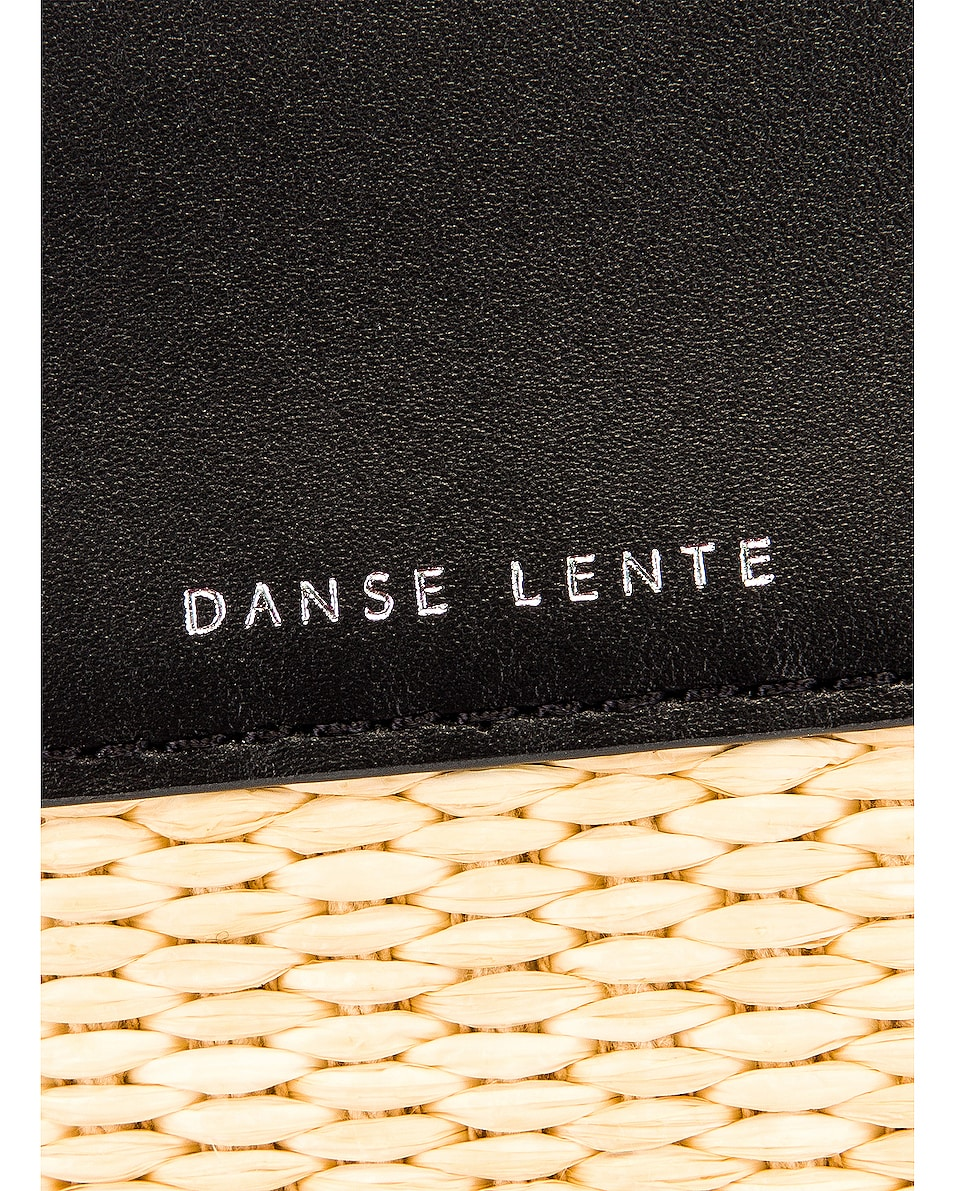 Image 8 of Danse Lente Small Tote in Black & Rice