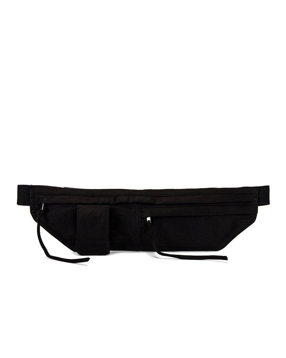 Image 1 of DRKSHDW by Rick Owens Belt Bag in Black