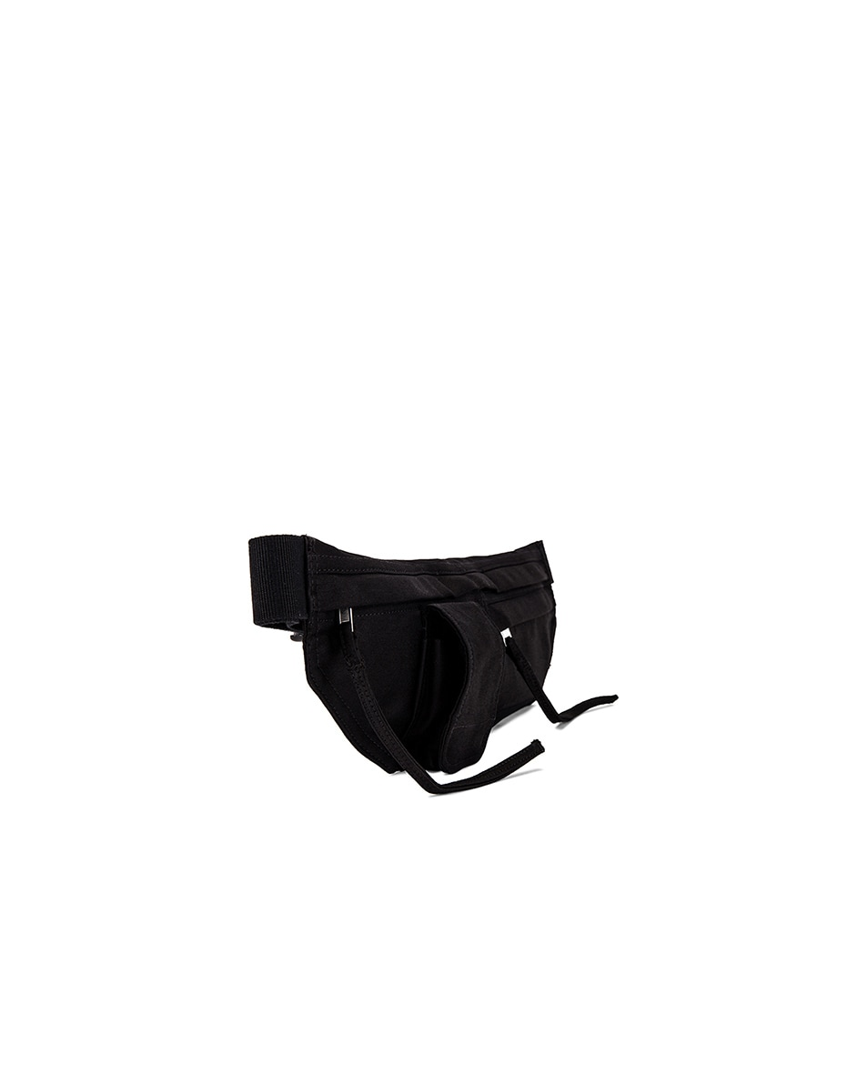 Image 3 of DRKSHDW by Rick Owens Belt Bag in Black