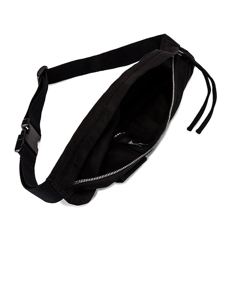 Image 4 of DRKSHDW by Rick Owens Belt Bag in Black