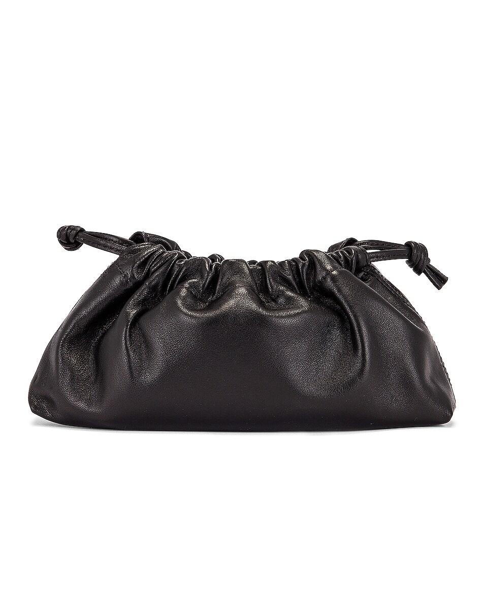 Image 3 of Studio Amelia 1.1 Mini Drawstring Bag in Black Nappa Leather