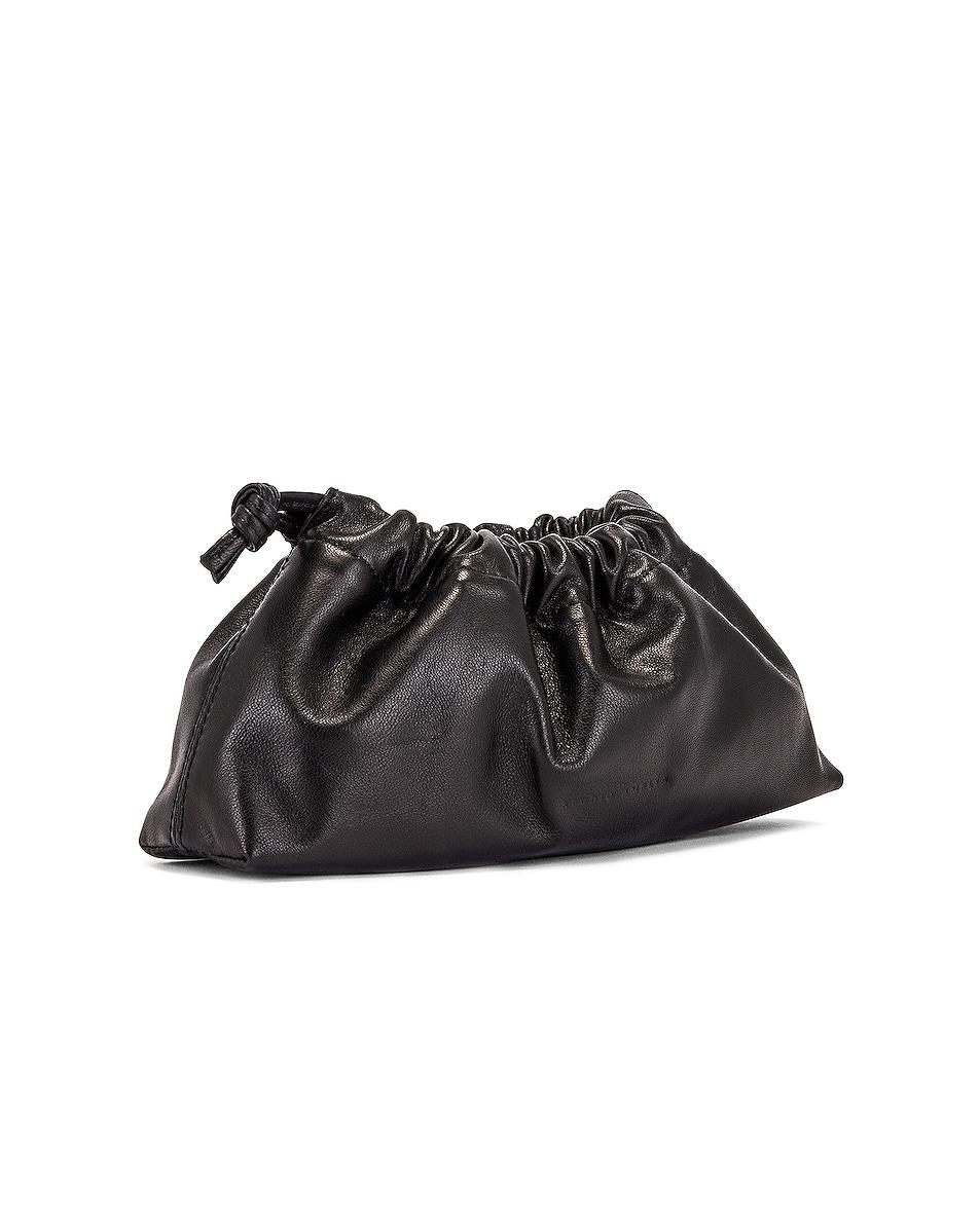 Image 4 of Studio Amelia 1.1 Mini Drawstring Bag in Black Nappa Leather