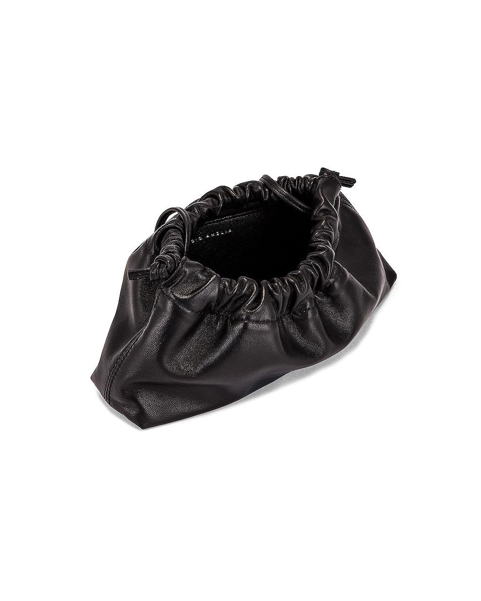 Image 5 of Studio Amelia 1.1 Mini Drawstring Bag in Black Nappa Leather