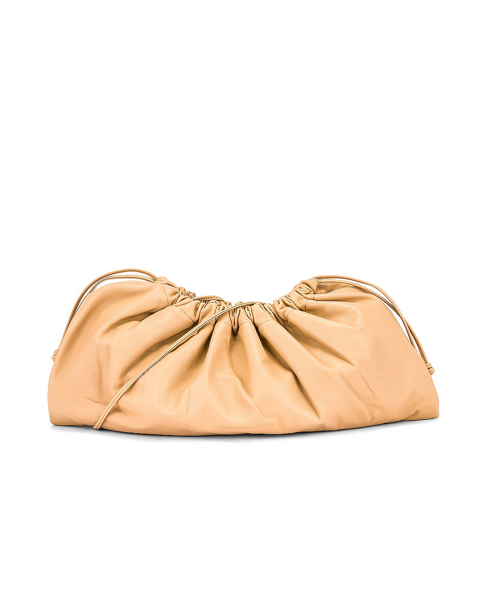 Image 1 of Studio Amelia 1.3 Maxi Drawstring Bag in Nude Nappa Leather