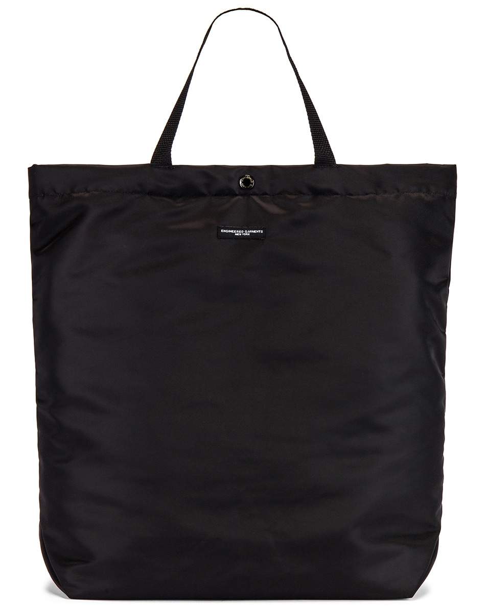 Image 1 of Engineered Garments Carry All Tote Bag in Black