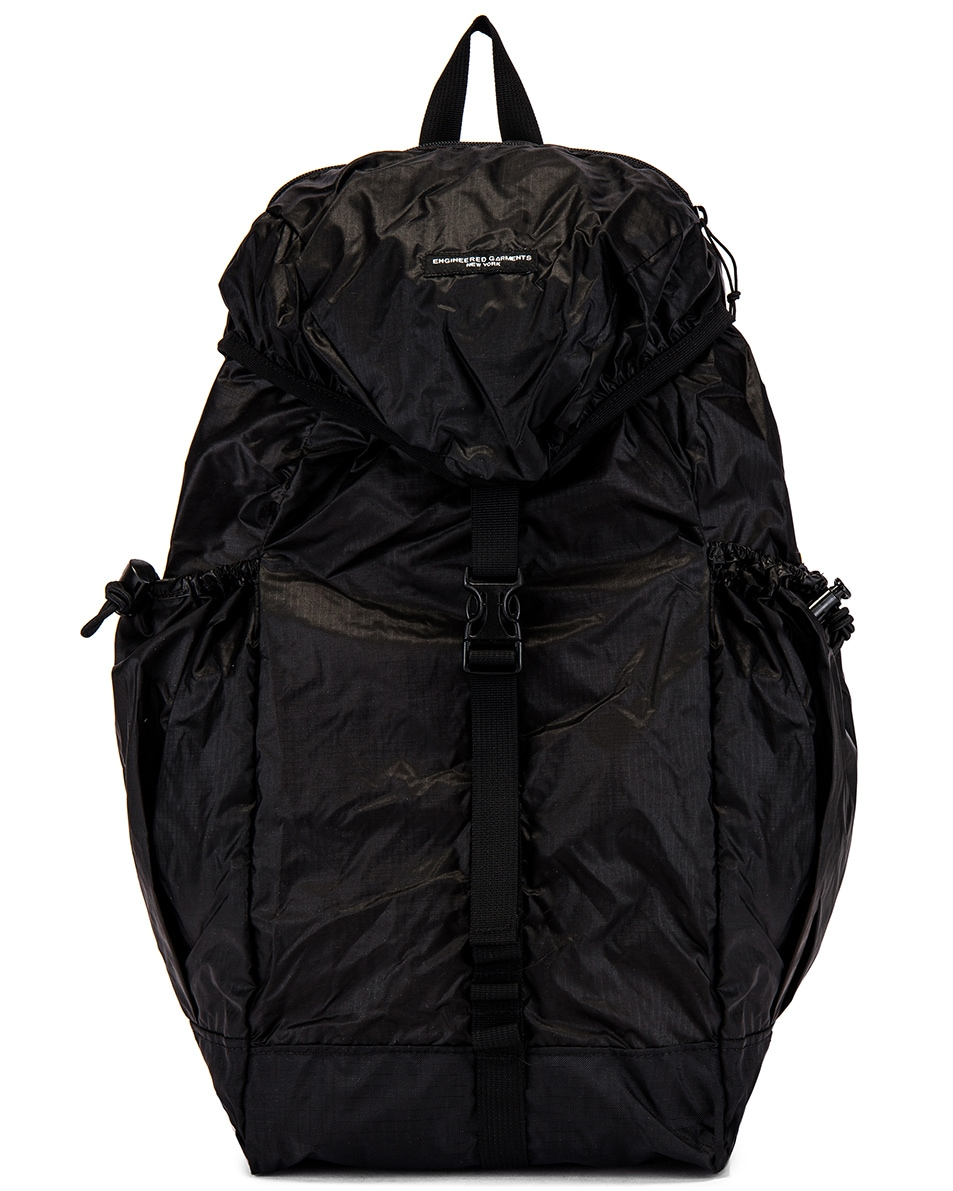 Image 1 of Engineered Garments UL Backpack in Black