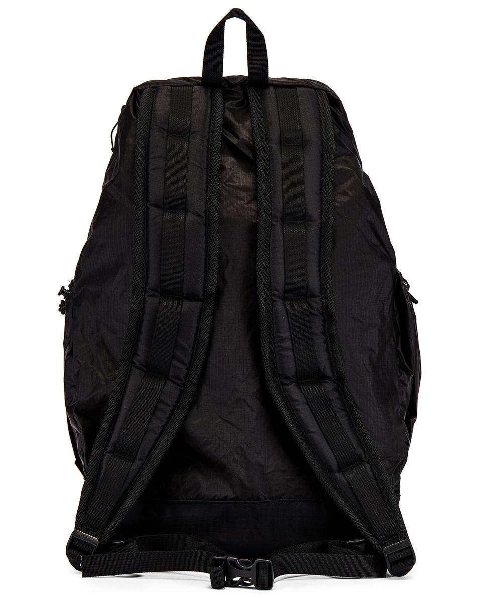 Image 2 of Engineered Garments UL Backpack in Black