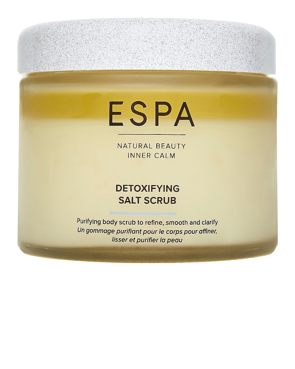Image 1 of ESPA Detoxifying Salt Scrub in