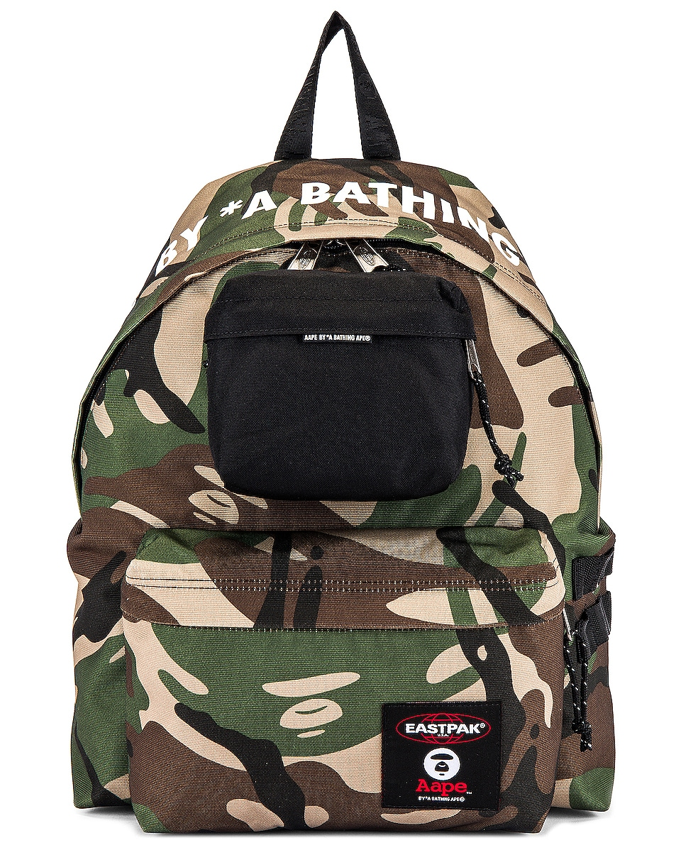 Image 1 of Eastpak x AAPE Padded Backpack in Aape Camo