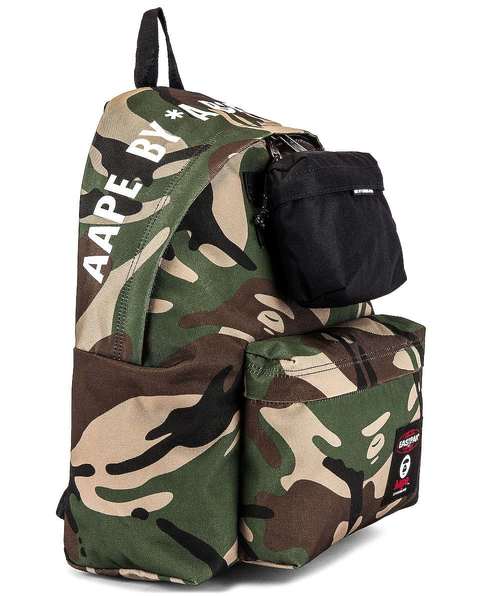 Image 3 of Eastpak x AAPE Padded Backpack in Aape Camo