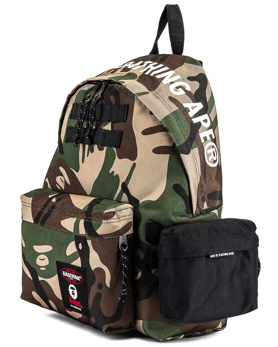 Image 4 of Eastpak x AAPE Padded Backpack in Aape Camo