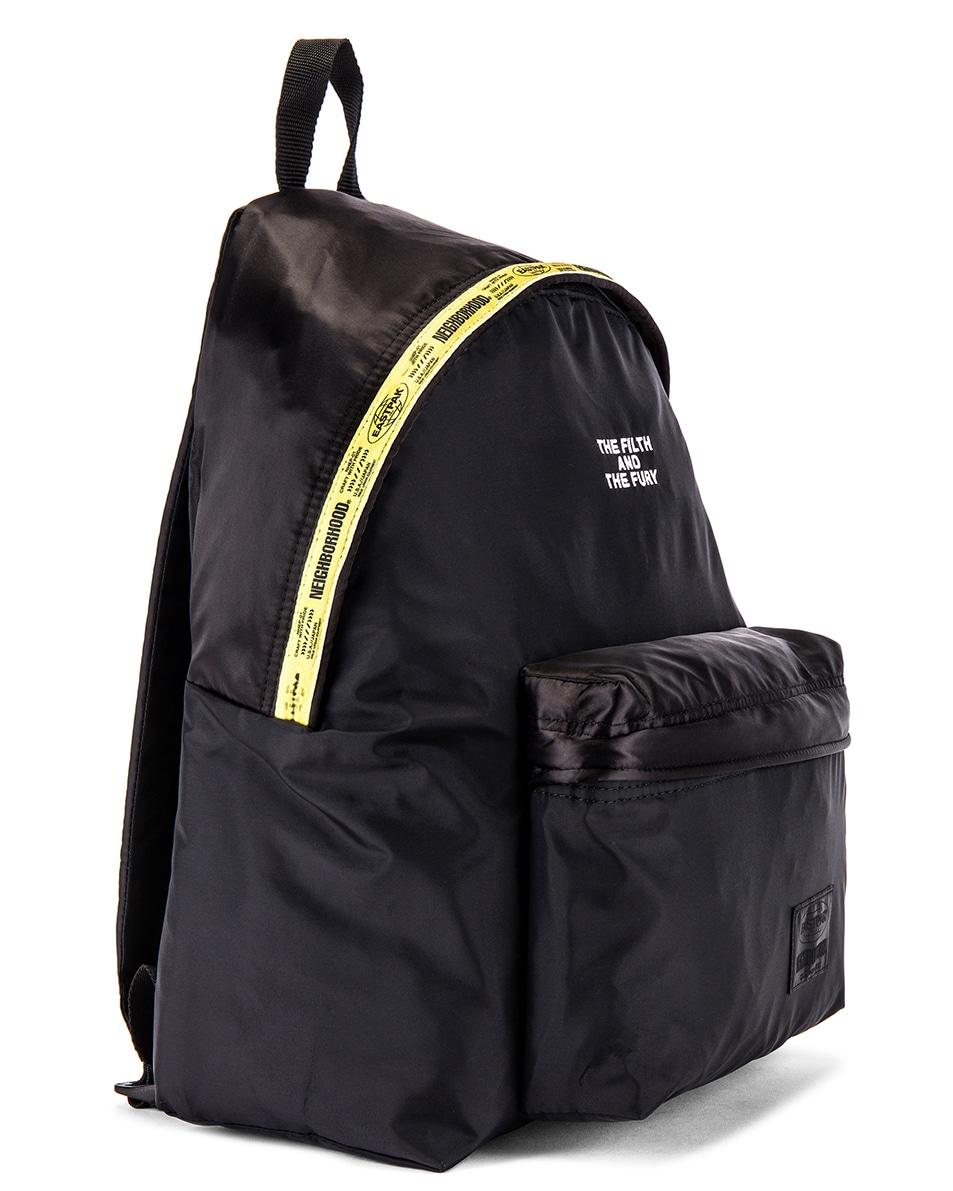 Image 3 of Eastpak x Neighborhood Padded Backpack in NBHD Black