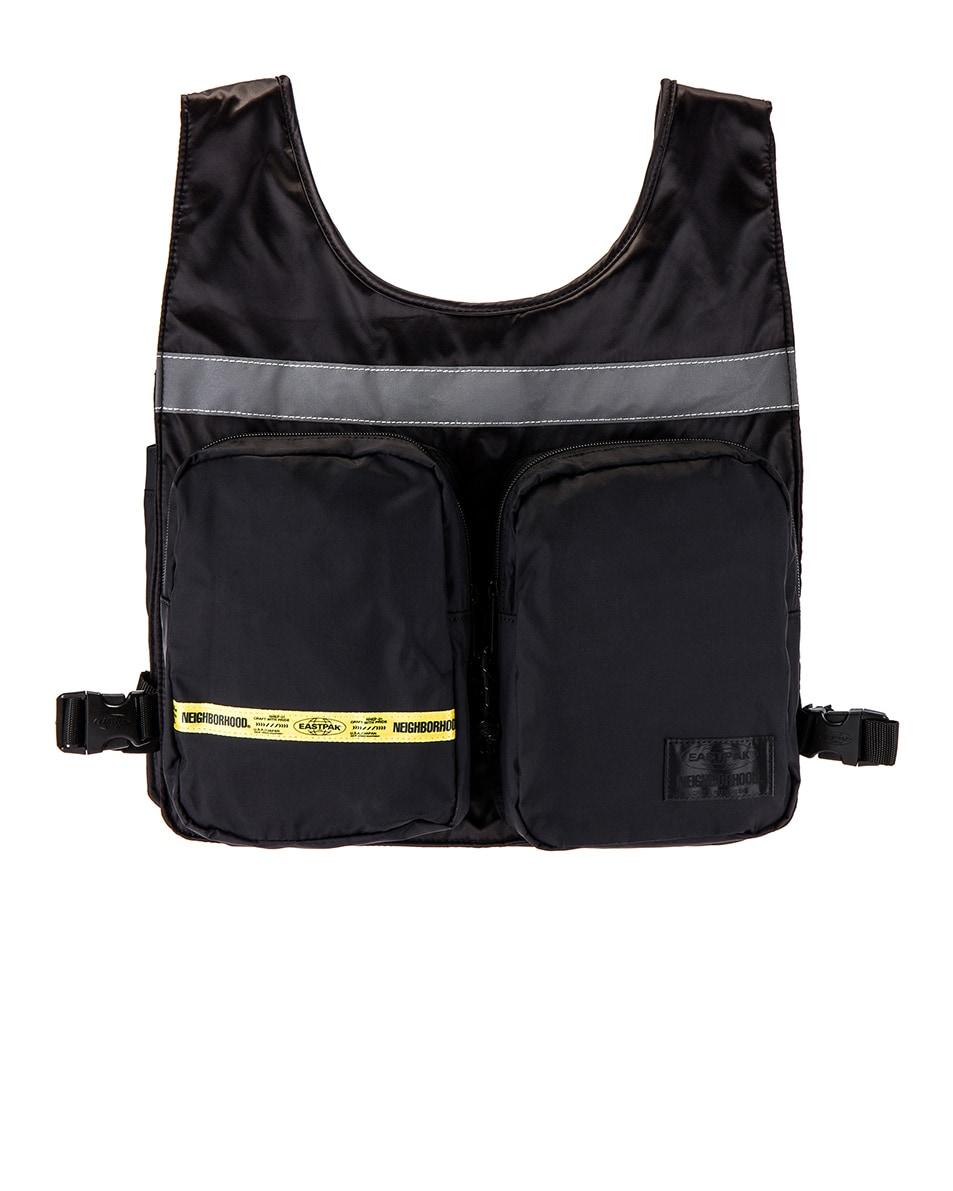 Image 1 of Eastpak x Neighborhood Vest Bag in NBHD Black