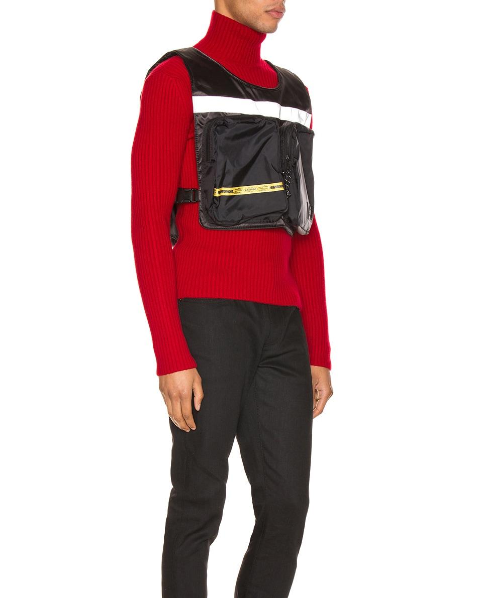 Image 2 of Eastpak x Neighborhood Vest Bag in NBHD Black