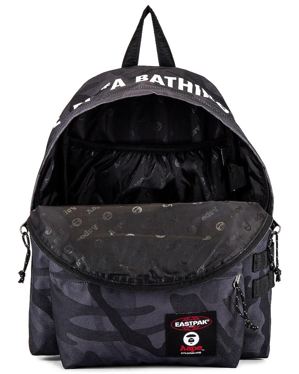 Image 5 of Eastpak x AAPE Padded Backpack in Aape Black Camo