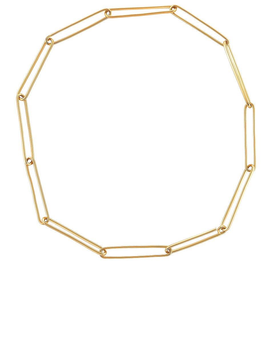 Image 1 of Fay Andrada Jono Chain Necklace in Brass