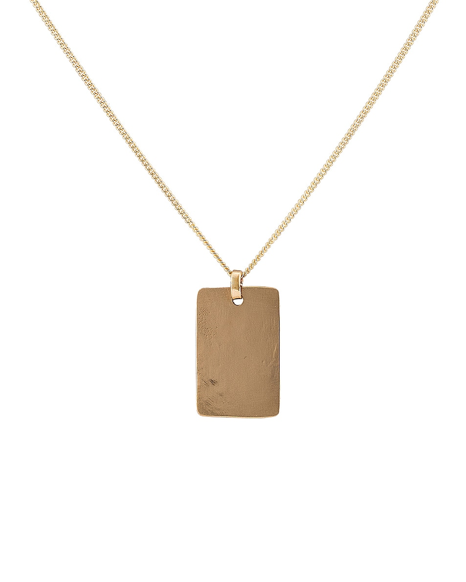 Image 1 of Fay Andrada Lohko Pendant Necklace in Brass