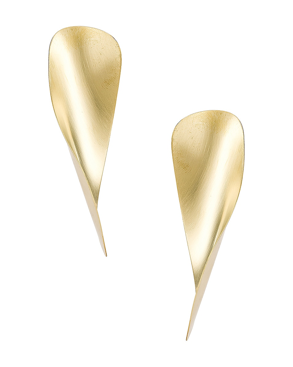 Image 1 of Fay Andrada Laine Earrings in Brass