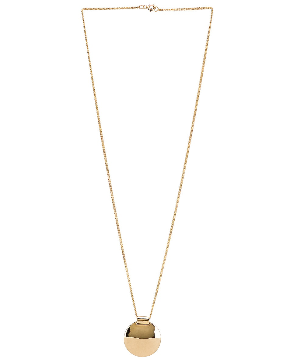 Image 2 of Fay Andrada Pallo Necklace in Brass & Gold Filled