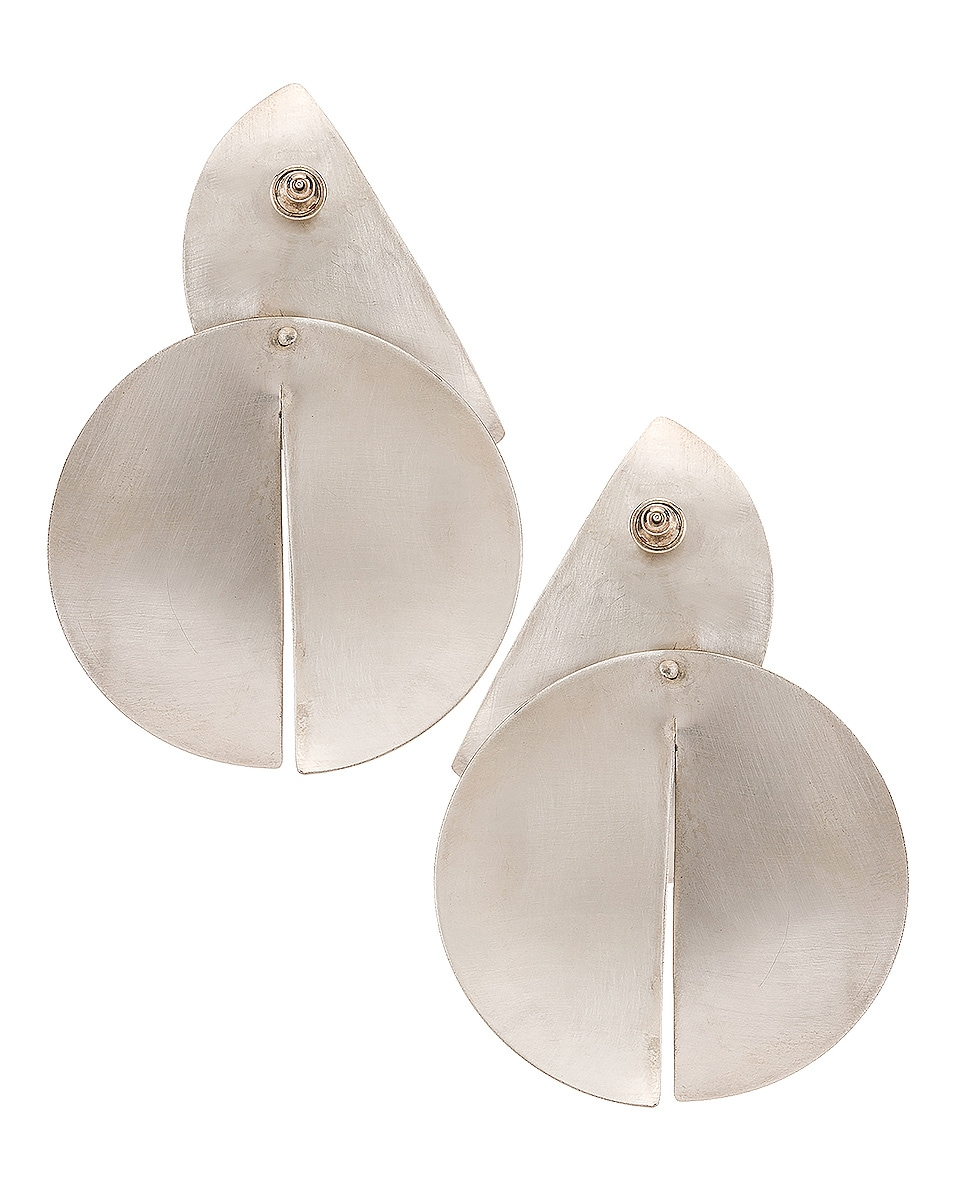 Image 3 of Fay Andrada Uuma Earrings in Sterling Silver
