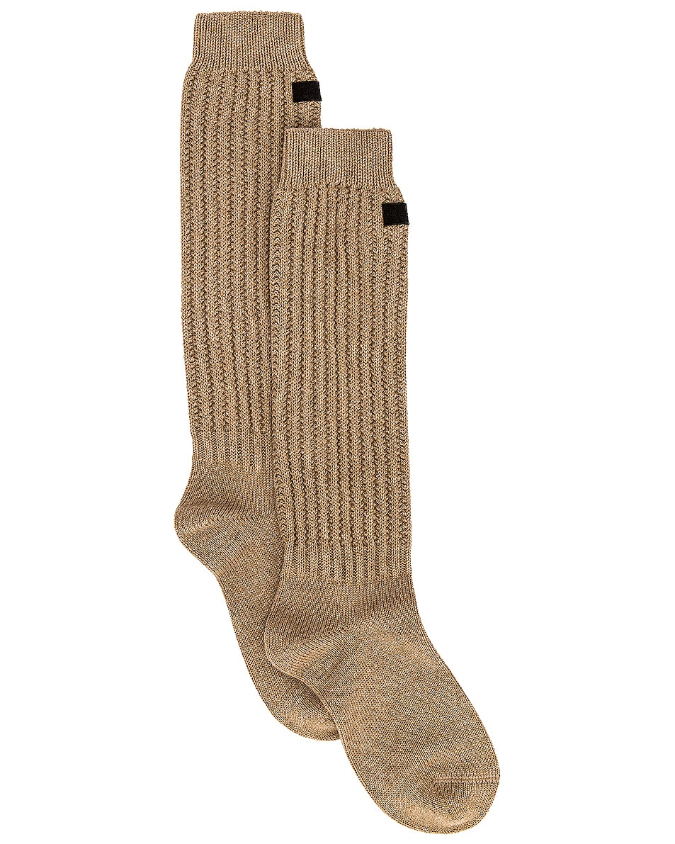 Image 1 of Fear of God 7th Collection Socks in Beige