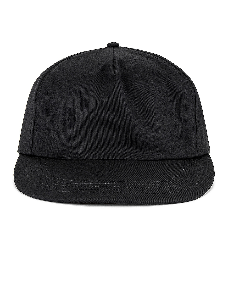 Image 1 of Fear of God 5 Panel Hat in Black