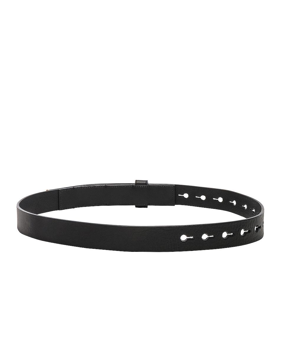Image 3 of Fendi Medium Belt in Black