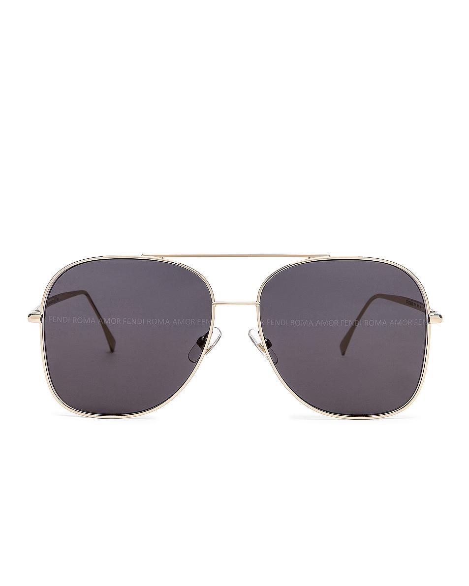 Image 1 of Fendi Metal Sunglasses in Grey
