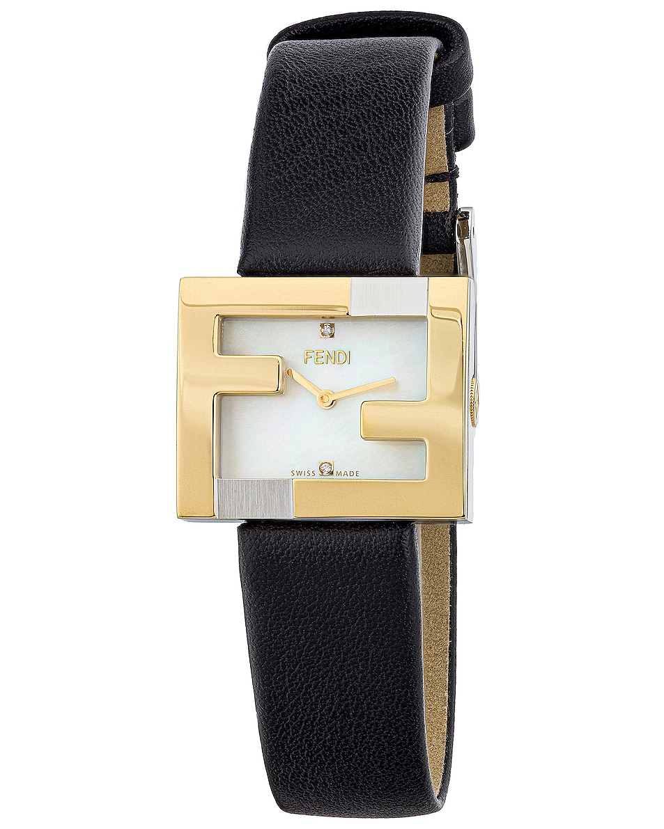 Image 1 of Fendi Fendi mania Watch in Black