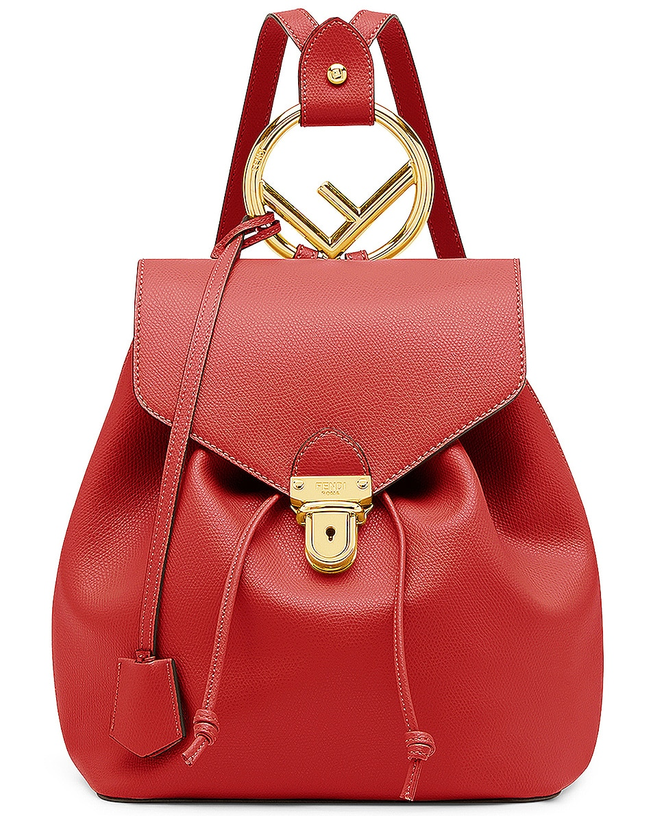 Image 1 of Fendi Backpack in Red bc8a3a7169ff5
