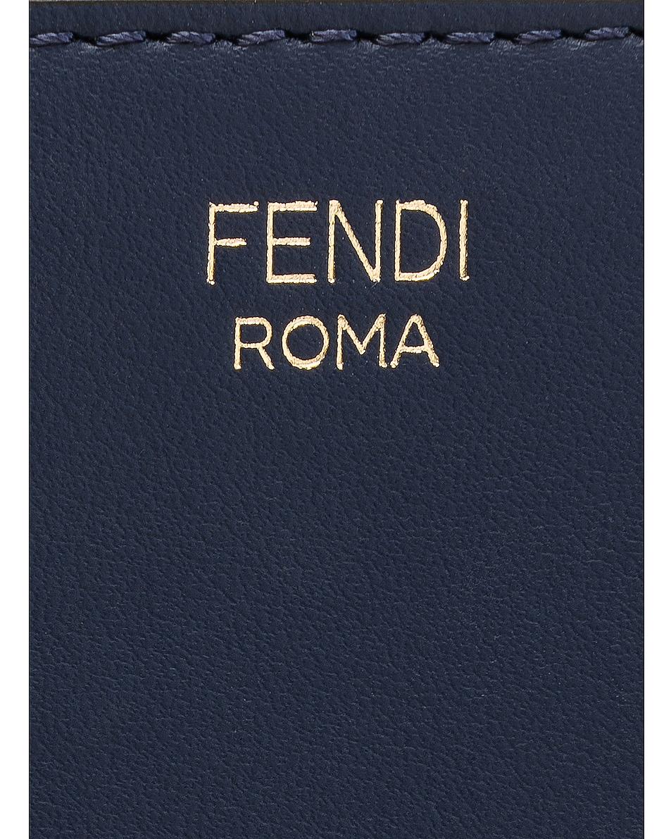 Image 6 of Fendi x FILA Small Logo Pouch in White & Multicolor