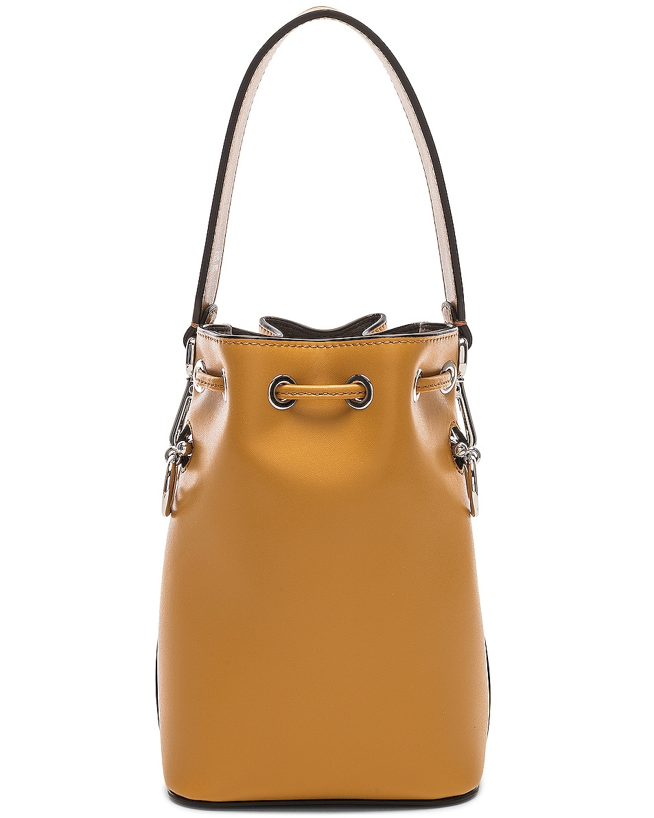 Image 3 of Fendi Mini Mon Tresor in Mustard