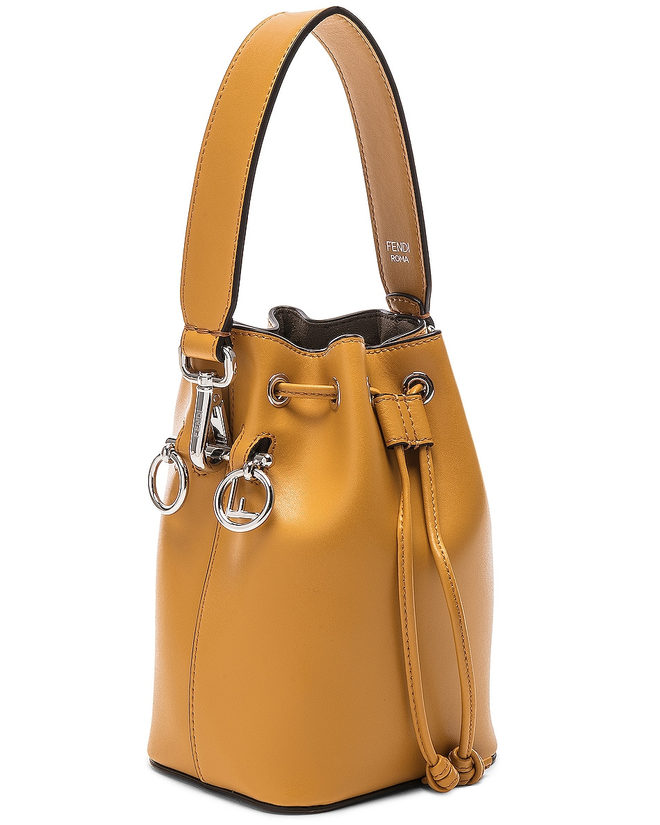 Image 4 of Fendi Mini Mon Tresor in Mustard