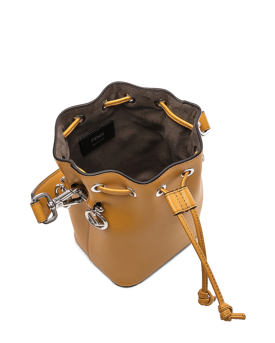 Image 5 of Fendi Mini Mon Tresor in Mustard