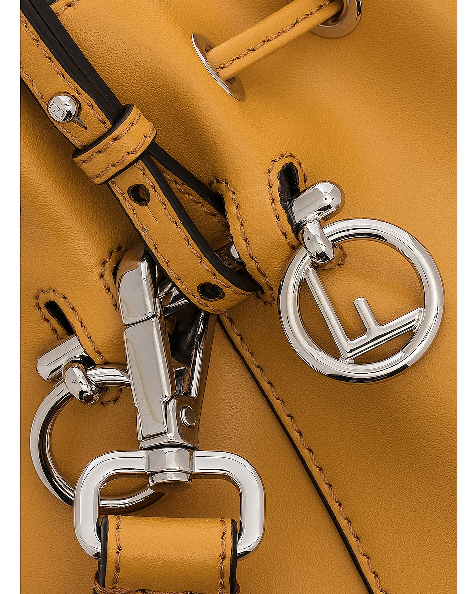 Image 8 of Fendi Mini Mon Tresor in Mustard