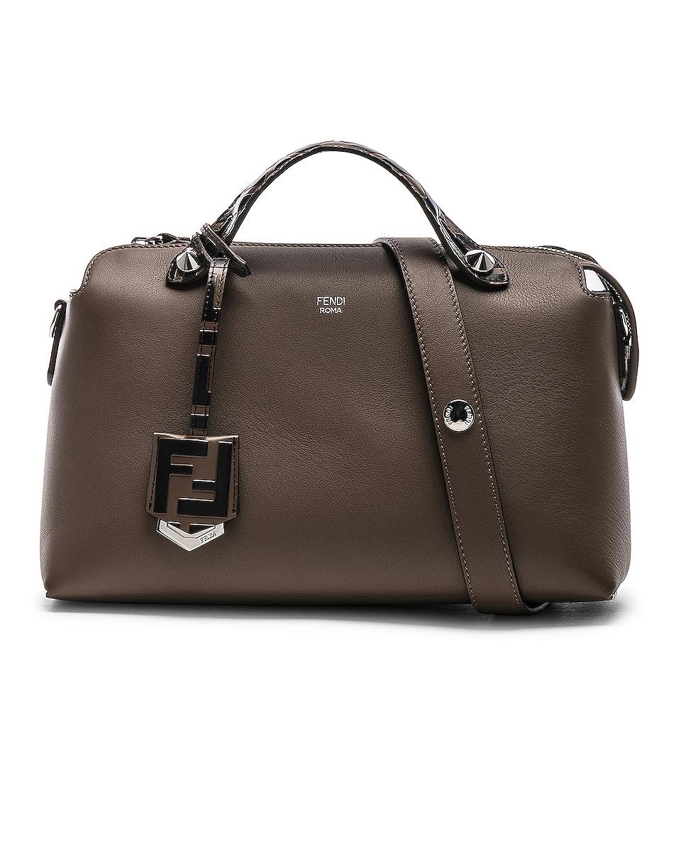 Image 1 of Fendi Medium Crossbody Bag in Chocolate