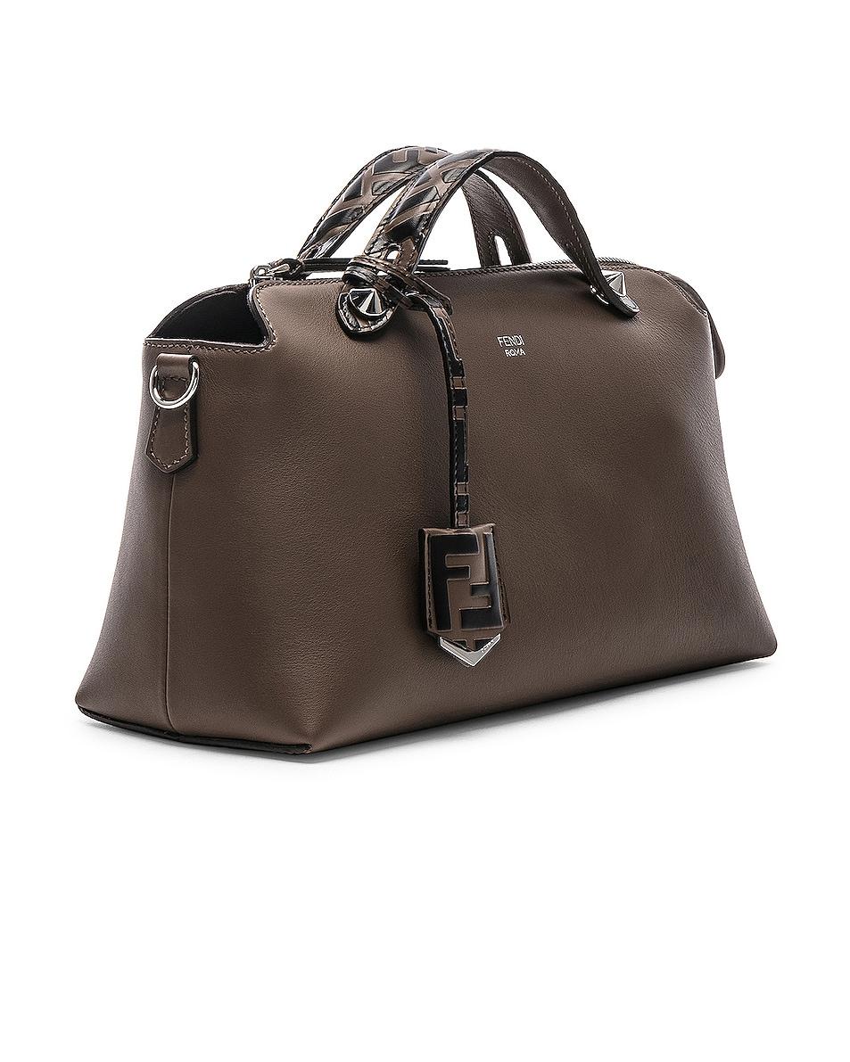Image 4 of Fendi Medium Crossbody Bag in Chocolate
