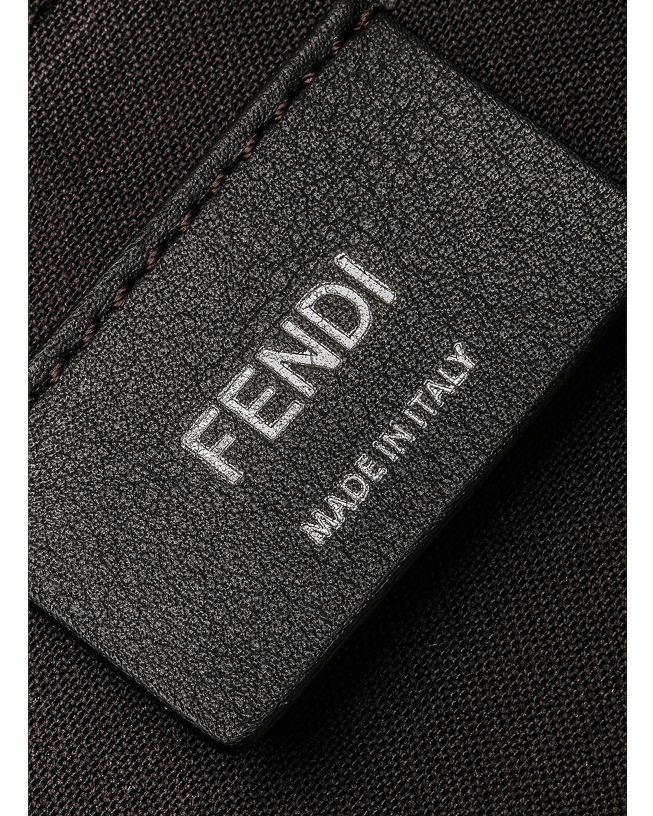 Image 7 of Fendi Medium Crossbody Bag in Chocolate